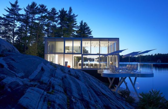 Glass Boathouse